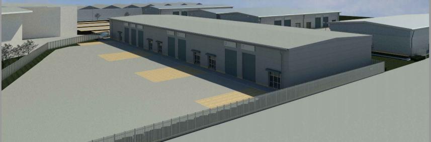 Keenan CDM providing CDM Principal Designer services on this commercial units development in Edinburgh