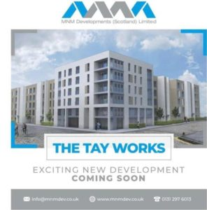 """The Tay Works"" Residential Flats by MNM Developments - CDM Consultant Principal Designer Services by Keenan CDM"
