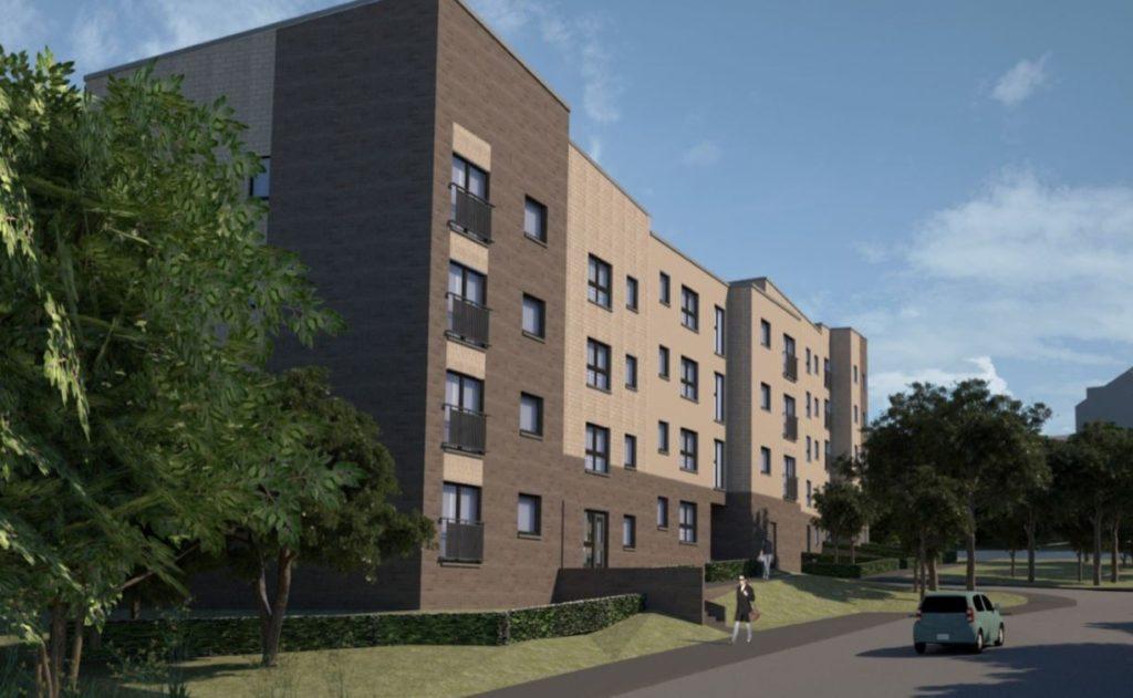 69 Affordable flats, Edinburgh - CDM Consultant Principal Designer Adviser service by Keenan CDM