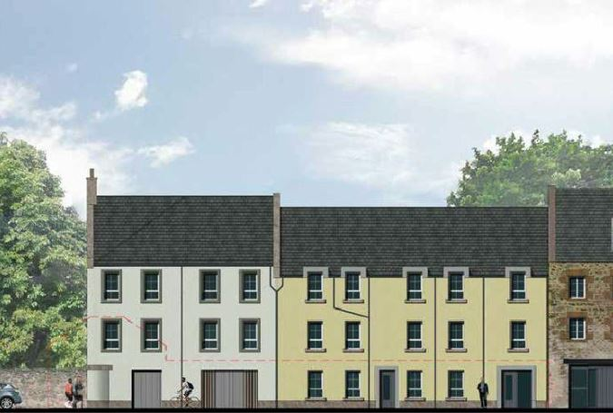 Affordable flats in East Lothian - CDM Consultant Principal Designer services by Keenan CDM