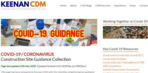 COVID-19 Construction Site Guidance Collection