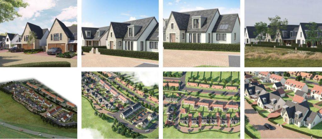 Images of East Lothian housing development - Keenan CDM providing Principal Designer Services