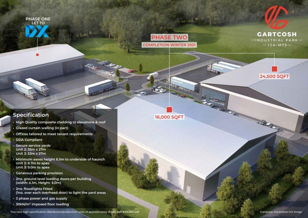 Commercial Units Project Image, with Keenan CDM providing CDM Principal Designer Services