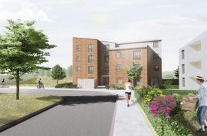 Telford Road Affordable Flats (11 Nr) Block Image