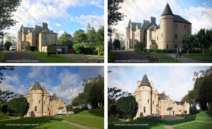 Castle Venlaw Existing & New Photo Montage